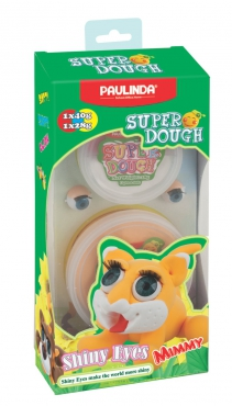 Super Dough Knetfigur Knete Modelliermasse Shiny Eyes Mimmy